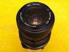 Tokina SD 28-70 f3, 5-4,5 macro lente de zoom Minolta MD, buen estado