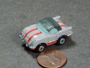 Micro Machines Chevy Corvette Coupe 1955 Gray Strips Galoob LGTI