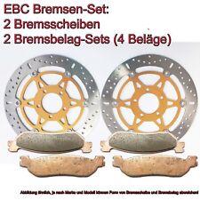 EBC Kit de Freins 2xMD3006X+2x FA244HH Suzuki GSX 1200 Fsw / Fsx Inazuma
