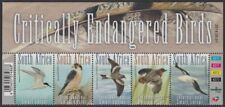 SOUTH AFRICA - 2014 Critically Endangered Birds control strip of 5 (MNH)