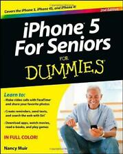 iPhone 5 for Seniors For Dummies (For Dummies (Computers)), Muir, Nancy C., Good