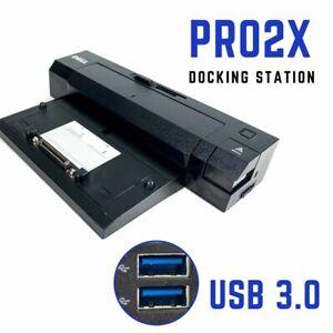 Dell Latitude E6330 E6400 E6410 USB 3.0 E-Port Plus Docking Station Replicator