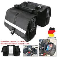 2x Wasserdicht Multi Satteltaschen Motorrad Gepäcktaschen Touring Koffer Tasche