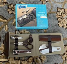 Vintage Simply Basic Gifts For Him Men's Travel Set 7 Piece NEW IN BOX
