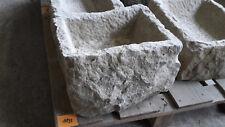 Alter Trog aus Granit 37 cm lang  Steintrog Granittrog G1198 Brunnen Waschbecken
