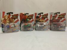 hot wheels Street Fighter V Character Cars lot of 4