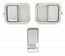 87 thru 06  3 pcs Left & Right & Tailgate Chrome Door Handle Fits: Jeep WRANGLER