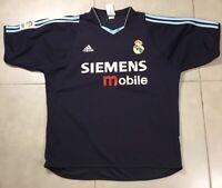VTG Real Madrid Jersey 2004 2005 Away Sz L Shirt Soccer Football Adidas Trikot