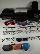 Optical Lot 12 Glasses Sunglasses  Contact Lens Cases