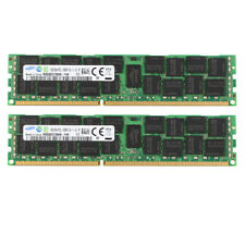2x For Samsung 16GB 2Rx4 PC3L-10600R DDR3 1333Mh​z REG-DIMM ECC SERVER Memory @M