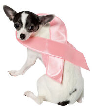 PINK RIBBON HALLOWEEN  PET DOG SMALL RASTA IMPOSTA - A COSTUME WITH A CONSCIENCE