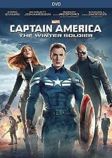 Captain America - The Winter Soldier (DVD, 2014)