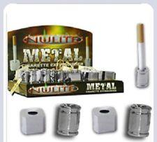4  X Nwlite Metal Cigarette Extinguisher /(Different Designs Round and Square).