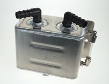 New Alloy 1 Litre Oil Catch Tank Breather - AH Fabrications TIG Welded Aluminium