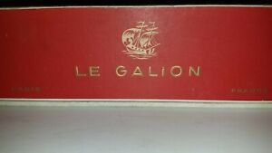 Vintage Le Galion Paris Pure Perfume 10 Pc. Set
