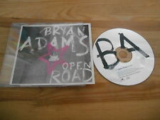 CD Pop Bryan Adams - Open Road (1 Song) Promo POLYDOR REC sc