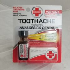 Red Cross Toothache Kit w/Natural Eugenol Oil, 1ct 310742000917T318