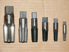 "New listing 6pc Morse/Greenfield Usa Npt Pipe Tap Set Hss - 1/8""- 1"""