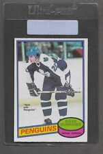 ** 1980-81 OPC Dave Burrows #147 (NRMT) High Grade Hockey Set Break ** P3027