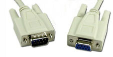 50 ft DB9 Male to Female Serial Extension for RS-232 50' Foot Cable Adapter NEW