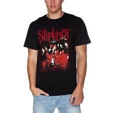 Slipknot Band Frame Mens Black T Shirt Large