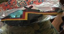 "Vtg Lego Legos 1990's Era 8"" Helicopter Pilot 2 Acc Lift Front Black Red Yellow"