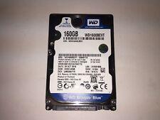 """Western Digital WD1600BEVT-00M9YT0 Scorpio Blue 160GB SATA 2.5"""" HD TESTED!"""