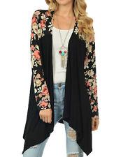 Vintage Women Long Sleeve Loose Knitted Cardigan Sweater Outwear Jacket Coat Top