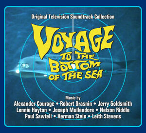 Voyage To The Bottom Of The Sea - 4 x CD Boxset - OOP - Jerry Goldsmith
