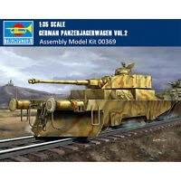 Trumpeter 00369 1/35 Scale German Panzerjagerwagen Vol2 Plastic Assembly Model