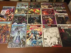 High Grade lot of TRANSFORMERS & G.I. JOE comic books MODERN AGE 076