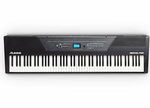 Keyboard Digital Piano Klavier Alesis Recital 88 Tasten Musikinstrument 20 Watt