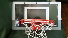 Spaulding NBA Slam Jam Over-The-Door Mini Basketball Hoop.