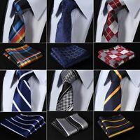 Slim Narrow Men's Tie Woven Skinny Plaid Pattern Fashion Style Neck Wear For Men