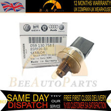 FUEL HIGH PRESSURE RAIL SENSOR to AUDI A4 A5 A6 A8 Q7 2.7 3.0 4.2 TDI VW TOUAREG
