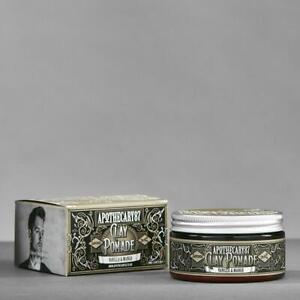 APOTHECARY 87 Clay Pomade Vanilla Mango Wax Oil Base Matte Gel Hair Barber NEW