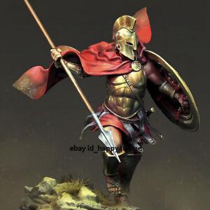Unassembled NEW Sparta Warrior Figure Model Kit Unpainted Garage Kits Resin GK