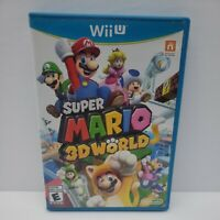 Super Mario 3D World (Nintendo Wii U, 2013) Complete Tested Canadian Version