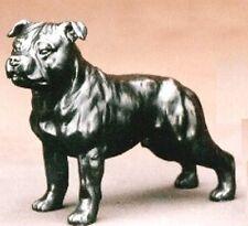 "Staffordshire Bull Terrier (Standing) Cold-Cast Bronze Figurine 5.75"" L #63-139"