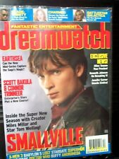 Dreamwatch Magazine Smallville Tom Welling Cover Babylon 5, Dec 2004