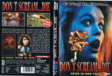 DON'T SCREAM... DIE - SPUR IN DEN TOD --- Horrorkomödie --- Uncut ---