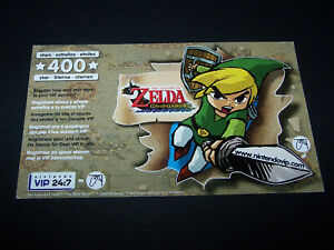 Legend of Zelda Windwaker / Original VIP 400 (Used) / Nintendo Gamecube / UK PAL