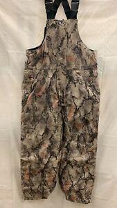 AGO Men's Natural Gear Windproof Water Resistant Fleece Overall Bibs coverall