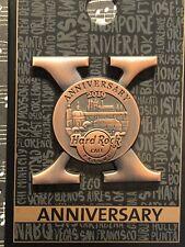 Hard Rock Cafe Prague 10th Anniversary Pin
