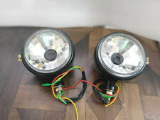 New Ford 2000 3000 4000 5000 7000 Tractor Headlights Set Pair Black