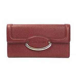 Oroton Lirio slim clutch Wallet Red New AUD$245
