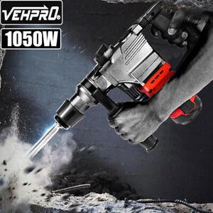 1050W Electric Demolition Hammer Breaker Jack Drill Concrete Hammer Power Tools