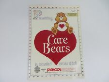Care Bears In Counted Cross Stitch Designs by Gloria & Pat Book 5100 #7651