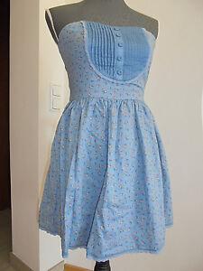 TRF Zara Damen Mädchen Kleid Girls Dress Sommerkleid Gr 164 S 36 38 EUR M