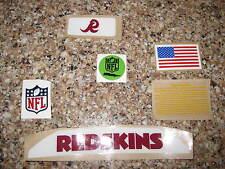 Washington Redskins  20 mil 3M vinyl full size football helmet decals